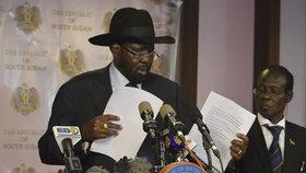 Jižnímu Súdánu hrozí občanská válka. Prezident sesadil viceprezidenta