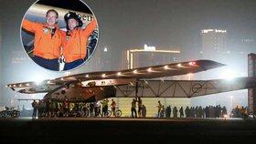 Cestu kolem světa zvládl letoun na solární pohon. Ve vzduchu strávil 500 hodin
