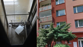 Tragédie v Žatci: Montér nepřežil pád do výtahové šachty
