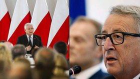 """Evropská komise """"válčí"""" s Polskem: Poslala mu tipy, jak se napravit"""