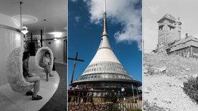 """Vysílač Ještěd slaví 50 let. """"Musím prodloužit horu,"""" věděl architekt Hubáček"""