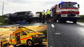 Chlapec (†10) zemřel při těžké autonehodě na Přerovsku, jeho sestřička bojuje o život