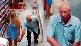 Úchyl mezi regály! Muž si fotil mobilem kalhotky blondýnky