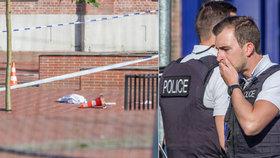 Muž s mačetou zranil v Belgii dvě policistky. Svědci: Volal Alláh akbar