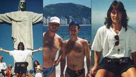 Retro Habera v retro plavkách: V těchto slipečkách řádil v Riu před 20 lety!