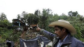 Tropická bouře v Mexiku si vyžádala už 45 mrtvých, po zavalených pátrají