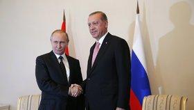 V Sýrii začne platit příměří mezi Asadem a rebely. A Putin si volal s Erdoganem