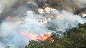 Českým turistům na Madeiře shořel hotel. Cestovky kvůli požárům ruší pobyty