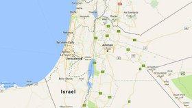 Google vymazal Palestinu z map: Je to falzifikace historie, zuří Palestinci
