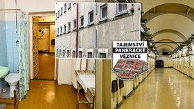 Kde vězni spí? Kam chodí na záchod? Kde pracují? Exkluzivní 360stupňové fotky z Pankráce
