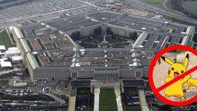 V Pentagonu zakázali lovit pokémony. Americká armáda se bojí špionů