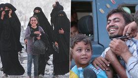 2000 osvobozených zajatců Islámského státu: Konečně se oholili!