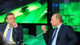 """Rusové v televizi lžou """"od rána do večera"""", tvrdí ministr a bojí se o Německo"""