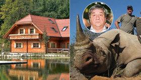 Kdo je oligarcha, který zaplatil 250 milionů za svatbu dcery v Praze? Rus vraždí nosorožce pro zábavu!