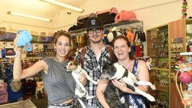 Když se ze psů celebrit stanou psí celebrity: Seznamte se s Hugem Krausem a Mimi Doubravovou!