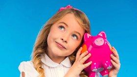 Money, money, money! Jak vysoké kapesné byste měli dětem dávat?