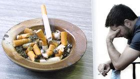 Cigaretkou proti stresu? Omyl. Kouření podle vědců způsobuje deprese