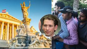 """Vídeň s migranty """"zatočí"""": Zákaz burek, nízká podpora a práce za almužnu"""