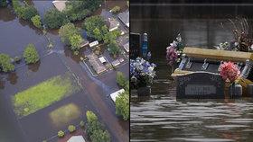 Největší katastrofa od Katriny: Povodně v Louisianě zabily už 13 lidí