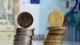 Eura nakoupíte lacino. Koruna zaskočila experty a prolomila hranici 26 Kč/EUR