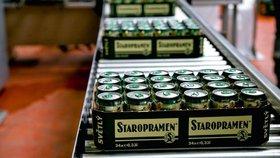 Pivovary Staropramen loni prodělaly 2,7 miliardy. Dál je to česká pivní dvojka