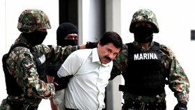 """Narkobaron """"Prcek"""" dobojoval: Mexiko ho vydalo Spojeným státům"""