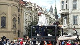 Praha chce zrušit Konvičkovi akci k výročí 11. září. Kvůli havárii vody