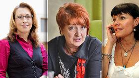 Pět žen v ohrožení. Ubrání svá křesla v Senátu před Slováčkem či Humlem?