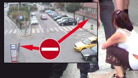 Manévry opilé řidičky na Smíchově: Nevšimla si zákazu vjezdu, nadýchala 1,5 promile