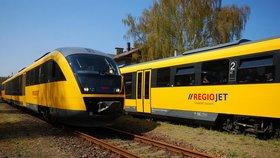 Žluté vlaky nestačily na Fica. RegioJet končí na trase Bratislava – Košice
