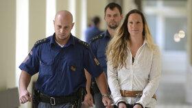 Brutální vražda pražské šperkařky: Blonďaté bestii soud potvrdil 17,5 roku