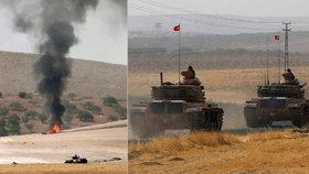 """Turci posilují """"invazi"""" proti Kurdům do Sýrie. ISIS tam použil chemické zbraně"""