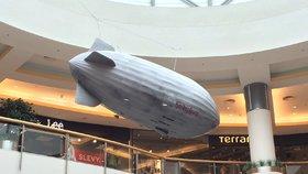 Vzducholoď, ponorka nebo obří robot: V Letňanech probíhá výstava vynálezů