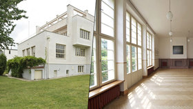Architektonický skvost k pronájmu: Sedm pokojů ve vile z roku 1932 za 110 tisíc