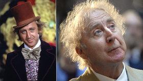 Zemřel Willy Wonka z továrny na čokoládu, podlehl Alzheimerově chorobě