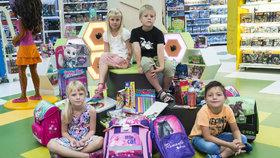 Blesk vzal děti na nákup školních potřeb  Co si prvňák vybere za 10 minut  2e942e2c0b