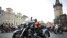 Do Prahy přijede až 70 tisíc harleyů. Zaplní Výstaviště, chystají spanilou jízdu