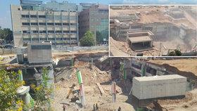 Neštěstí v Izraeli: Jsou hlášeni první mrtví. Budova zasypala nejméně 15 lidí