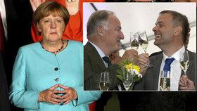 Prohra Merkelové těší její kritiky. Německo se mění, varují čeští politici