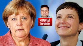 Komentář: Češi nesnášejí Merkelovou za uprchlíky. Alternativa je ještě horší