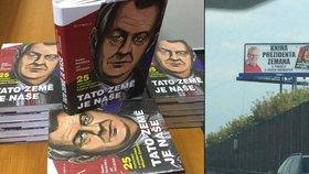 Propagovali Zemanovu knihu před volbami, teď jim na stole přistála pokuta