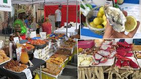 Papírna Street Food: Ústřice, maso i vegetariánské dobroty přímo ze stánku