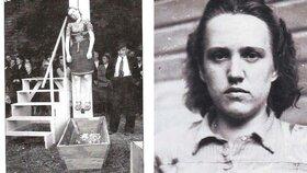 Ukazovala prstem na Čechy a Němci je popravovali: Uplynulo 70 let od smrti Herty Kašparové