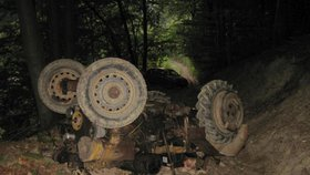 Dva mrtví mladíci po noční jízdě na traktoru: Místní lidé popsali okamžiky zkázy