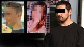 Únosce Daniela (16) a Jany (13) je recidivista: Silvie kvůli němu spala s kladivem pod postelí