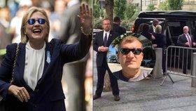 Kolaps Clintonové natočil hasič z Česka. Jeho video obletělo svět