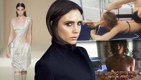 Victoria Beckham to schytala za kostnaté modelky: Ty se hned začaly fotit s jídlem