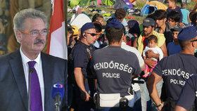 """""""Maďaři s uprchlíky zachází hůř než se zvířaty."""" Ministr je chce vypakovat z EU"""