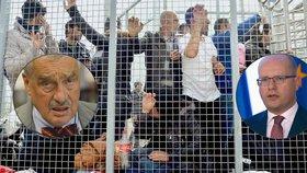 Vyhodit Maďary z EU kvůli uprchlíkům? Nesmysl, hřímají Sobotka, kníže a další