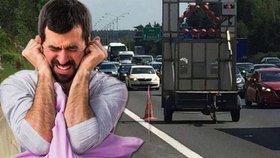 Rachot ze silnic a dálnic bude už státu jedno. Hluk přestane měřit na řadě míst